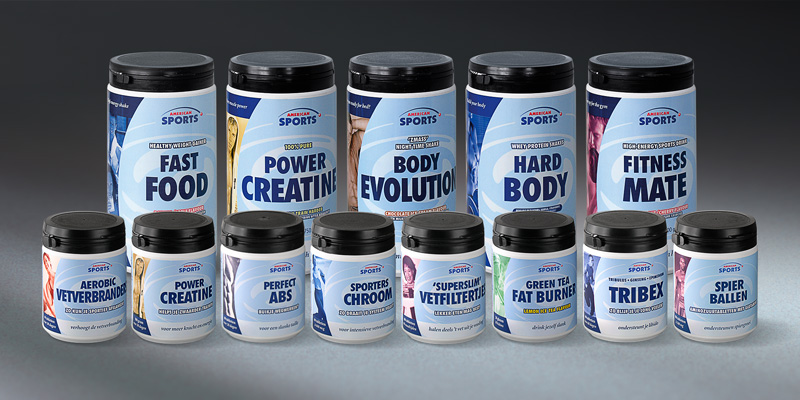 Label designs for American Sports Nutrition
