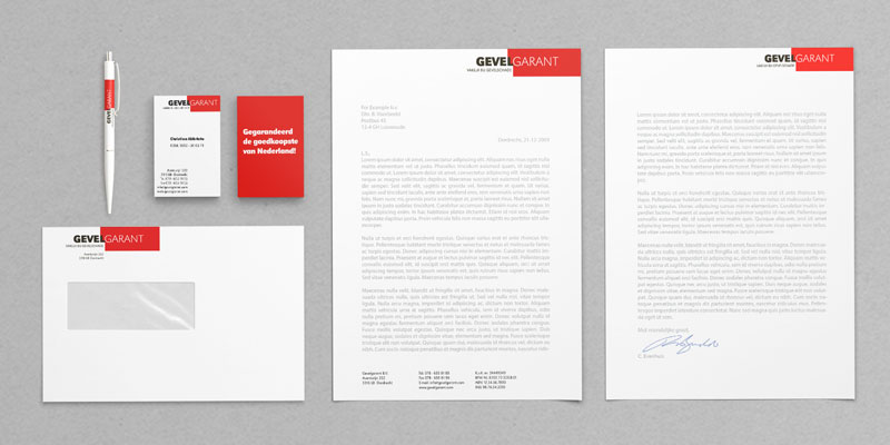 Gevelgarant corporate identity