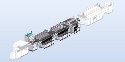 Visualisation of an SMT production line for Philips EMT b.v.